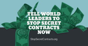 Stop Secret Contracts now
