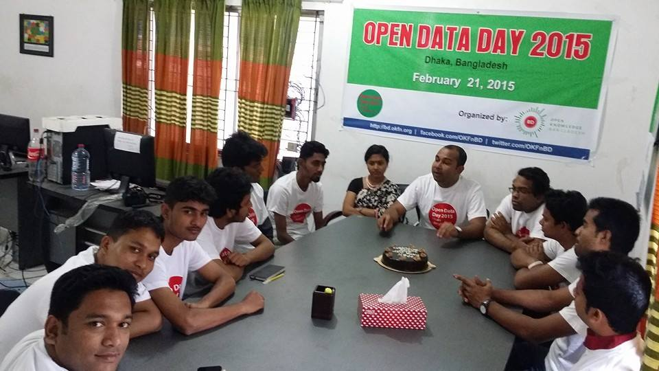 Open Data Day 2015 celebration by OK Bangladesh